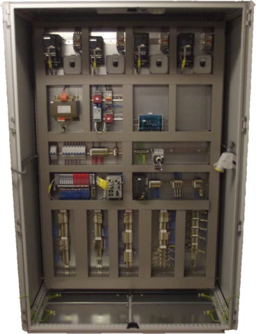 Programmable Logic Controller (PLC) & Remote Input/Output (RIO) Control Panels
